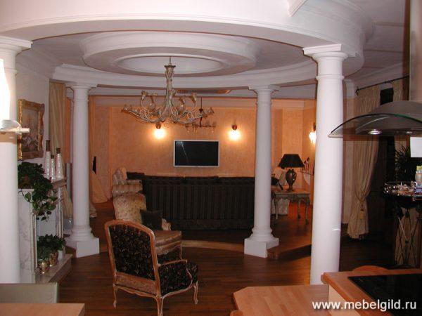 Дизайн квартиры в современном стиле на Мичуринском