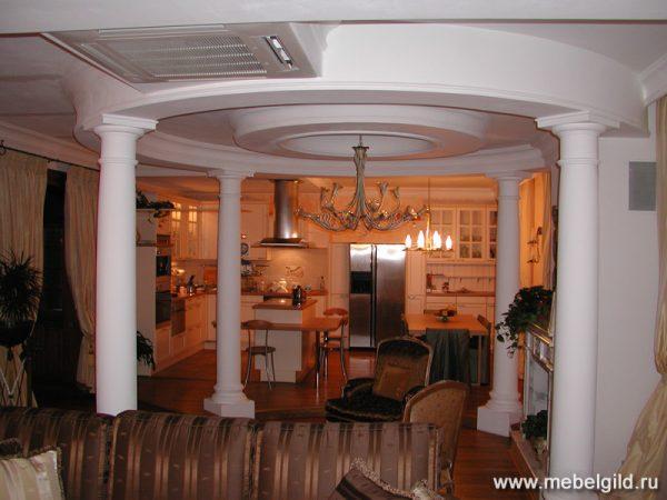 Стильная мебель для кухни на Мичуринском проспекте