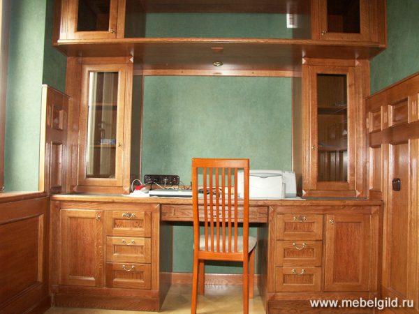 Интерьер в классическом стиле для кабинета на Ярославском