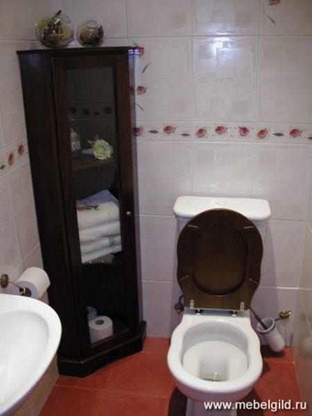 Высокое изящество на малой площади. Шкафы для ванных комнат