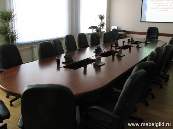 Стол для переговоров (Московский государственный университет сервиса)