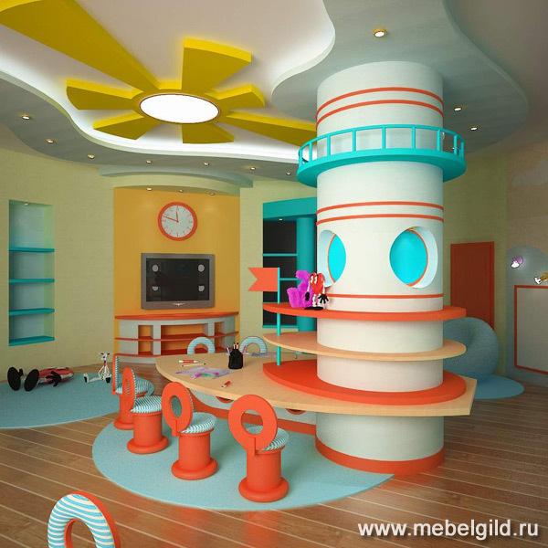 Изготовление специализированной мебели для детского сада