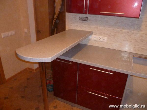 Барная стойка - функциональный элемент кухни